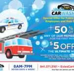 Car Wash Discount Flyer