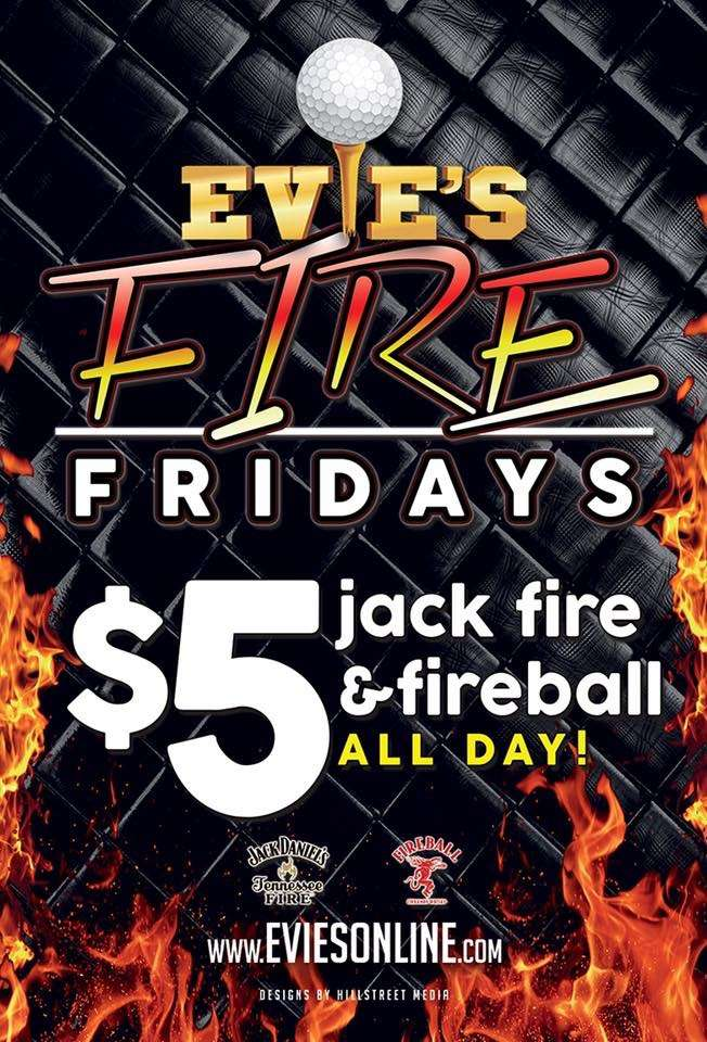 Jack Daniel's Tennessee Fire and Fireball, $5 all day