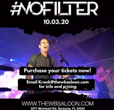 #NoFilter creates a one-of-a-kind, concert-style experience featuring four singer-musicians. Each member plays multiple instruments alongside rich, original backing sounds and elaborate vocals.